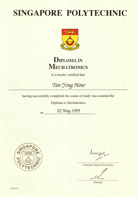 Diplomag awarded diploma in mechatronics yelopaper Gallery